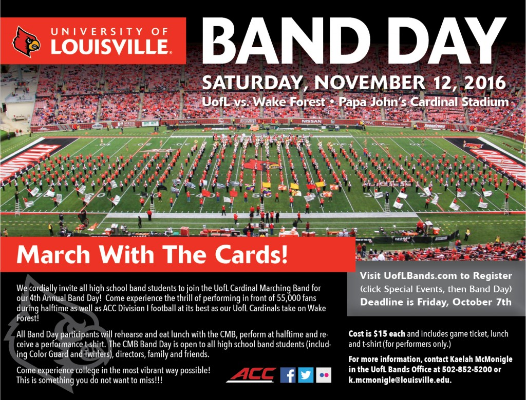Band Day Flyer 2016 final