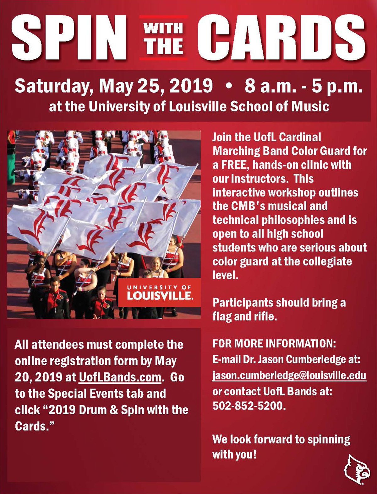 """Spin with the Cards"""" clinic 